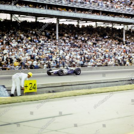 Editorial photo of IndyCar, Indy 500, Indianapolis Motor Speedway, United States of America - 30 May 1966