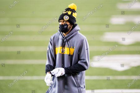 Pittsburgh Steelers safety Marcus Allen (27) prior to an NFL football game against the Cincinnati Bengals, in Cincinnati