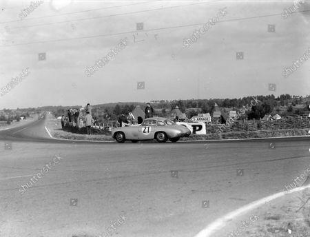 Hermann Lang / Fritz Riess, Daimler Benz AG, Mercedes-Benz 300 SL.