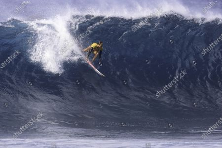 Stock Photo of Carissa Moore - Surfing : WSL Maui Pro Final at Pipeline in Haleiwa, Hawaii, U.S.A.