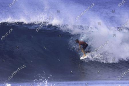John John Florence - Surfing : WSL Pipe Masters Final at Pipeline in Haleiwa, Hawaii, U.S.A.