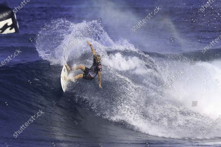 John John Florence - Surfing : WSL Pipe Masters  Quarterfinals at Pipeline in Haleiwa, Hawaii, U.S.A.