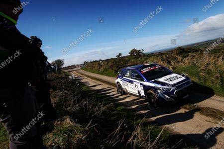 Stock Picture of Meirion Evans / Jonathon Jackson Hyundai i20 R5