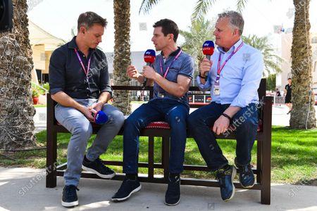 Simon Lazenby, Sky TV, Anthony David, Sky TV, Johnny Herbert Sky TV