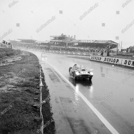 Editorial image of Le Mans, 24 Hours of Le Mans, Circuit de la Sarthe, France - 26 Jul 1960