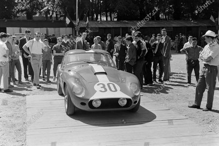 Stock Picture of André Wicky /Georges Gachnang's Ecurie Lausannoise, AC Ace Aigle - Bristol.
