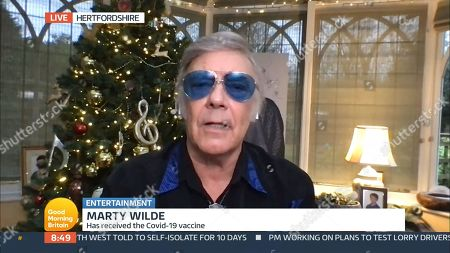 Stock Image of Marty Wilde