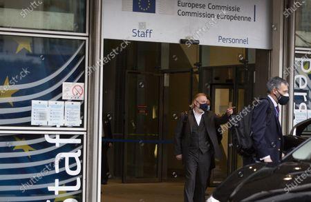 Editorial image of EU Brexit, Brussels, Belgium - 22 Dec 2020