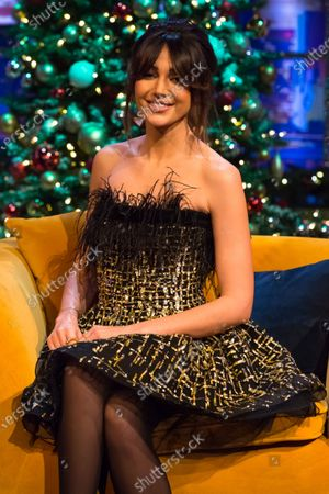 Editorial photo of 'The Jonathan Ross Show' TV show, Series 16, Episode 11, London, UK - 24 Dec 2020
