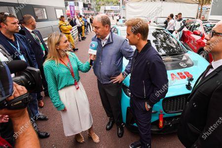 Georgie Barrat interviews Albert II, Prince of Monaco and Nico Rosberg, Formula E investor