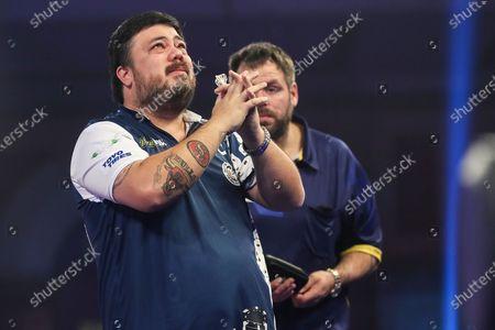 Editorial photo of William Hill World Darts Championship - 22 Dec 2020