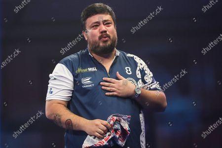 Editorial image of William Hill World Darts Championship - 22 Dec 2020
