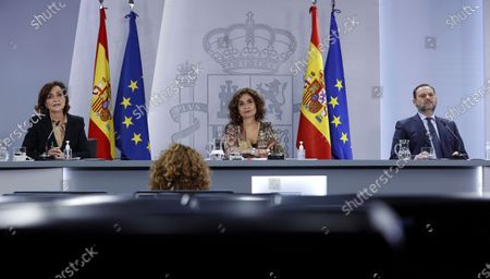 Editorial photo of Press conference after the cabinet meeting in Madrid, Spain - 22 Dec 2020