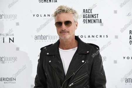 Eddie Irvine at the Amber Lounge Fashion Show