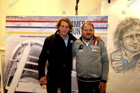 Freddie Hunt, son of legendary F1 world champion James Hunt