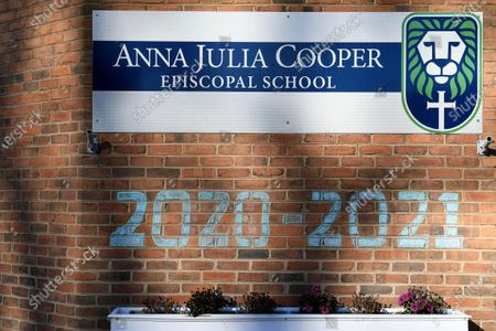 Stock Image of General view of Anna Julia Cooper Episcopal School, in Richmond. Proceeds from Frank Pichel's Christmas tree sales will go to Anna Julia Cooper Episcopal School