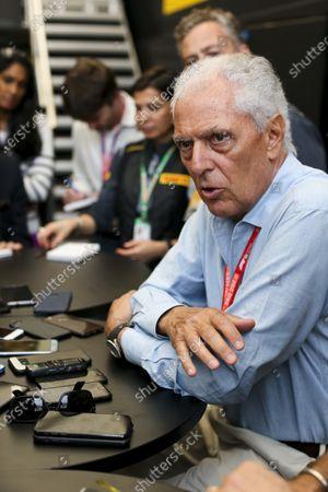 Marco Tronchetti Provera, CEO, Pirelli, holds a Press Conference