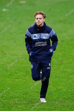Stephen Duke-McKenna of QPR warms up before kick off