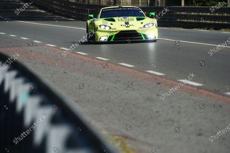 Stock Photo of #97 Aston Martin Racing Aston Martin Vantage AMR: Alex Lynn, Maxime Martin, Jonathan Adams, Russ Gunn