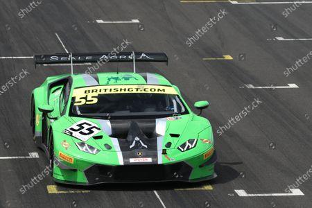 Stock Photo of John Seale / Jamie Stanley JMH Auto Lamborghini Huracan GT3 Evo