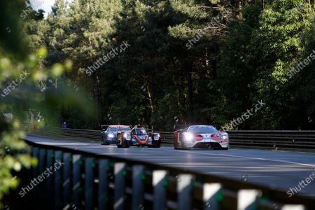 #67 Ford Chip Ganassi Racing Ford GT: Andy Priaulx, Harry Tincknell, Jonathan Bomarito, #43 RLR M Sport / Tower Events Oreca 07 Gibson: John Farano, Arjun Maini, Norman Nato.