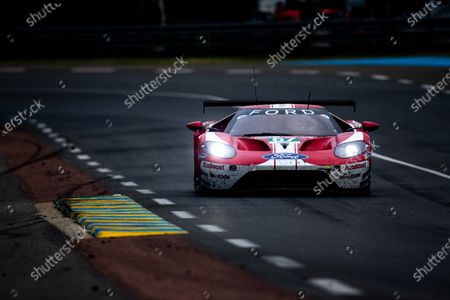 Stock Photo of #67 Ford Chip Ganassi Racing, Ford GT: Andy Priaulx, Harry Tincknell, Jonathan Bomarito
