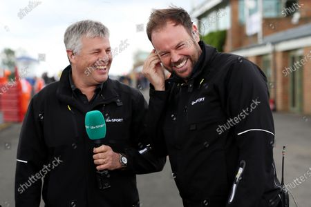 ITV - Steve Rider, Tim Harvey and Paul O'Neill