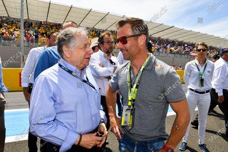 Jean Todt, President, FIA, and Sebastien Loeb