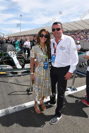 Tamara and Eric Boullier on the grid