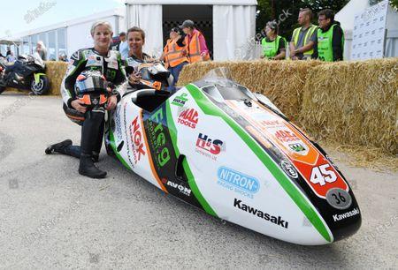 Maria Costello LCR Kawasaki