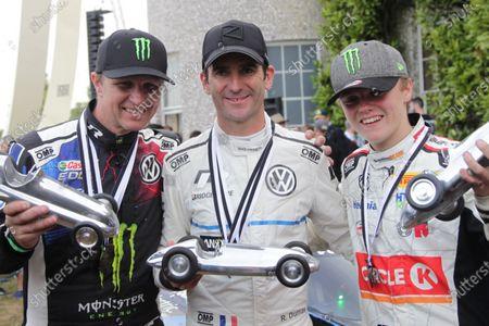 Petter Solberg, Romain Dumas and Oliver Solberg
