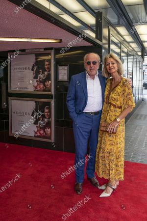 David and Karen Richards on the red carpet