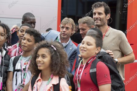 Paul Stewart, David Coulthard and Mark Webber, Channel 4 F1