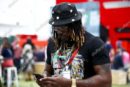 Stock Photo of Chris Gayle, West Indies cricketer.