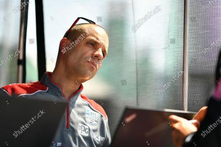 Stock Image of David Faustino Race Engineer, Will Power, Team Penske Chevrolet