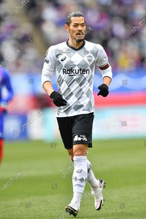 Vissel Kobe's Hotaru Yamaguchi during the 2020 J.LEAGUE Division 1 soccer match between FC Tokyo 1-0 Vissel Kobe at Ajinomoto Stadium in Tokyo, Japan.