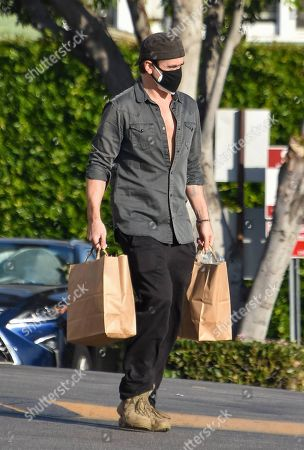 Editorial picture of Colin Farrell out and about, Los Angeles, USA - 22 Dec 2020