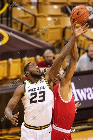 Editorial image of Bradley Missouri Basketball, Columbia, United States - 22 Dec 2020