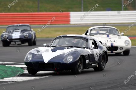 Stock Photo of Silverstone Classic 2019 192 THOMAS Julian, GB, LOCKIE Calum, GB, Shelby Daytona Cobra At the Home of British Motorsport. 26-28 July 2019 Free for editorial use only Photo credit ? JEP