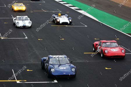 Silverstone Classic 2019 192 THOMAS Julian, GB, LOCKIE Calum, GB, Chevron B8 At the Home of British Motorsport. 26-28 July 2019 Free for editorial use only Photo credit ? JEP