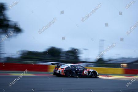 #23 Tech 1 Racing Lexus RCF GT3: Fabien Barthez, Eric Cayrolle, Bernard Delhez, Timothé Buret.
