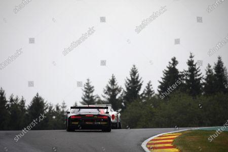 #25 Audi Sport Team Sainteloc Audi R8 LMS GT3 2019: Markus Winkelhock, Frédéric Vervish, Christopher Haase.