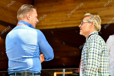 Jos Verstappen and Jacques Villeneuve