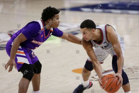 Editorial picture of Northwestern St Gonzaga Basketball, Spokane, United States - 22 Dec 2020