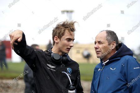Ferdinand Habsburg, R-Motorsport with Gerhard Berger, ITR Chairman.