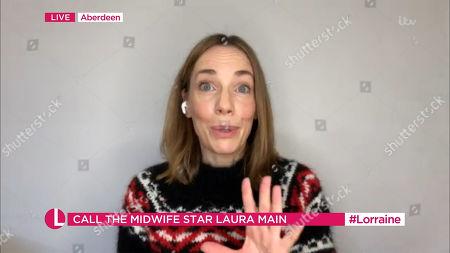 Editorial picture of 'Lorraine' TV Show, London, UK - 23 Dec 2020