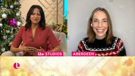 Editorial image of 'Lorraine' TV Show, London, UK - 23 Dec 2020