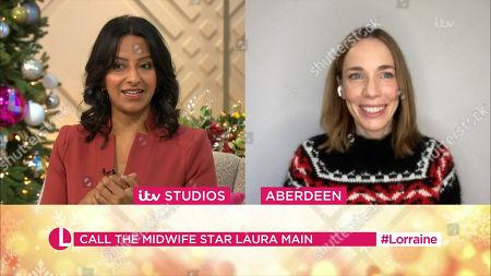 Editorial photo of 'Lorraine' TV Show, London, UK - 23 Dec 2020