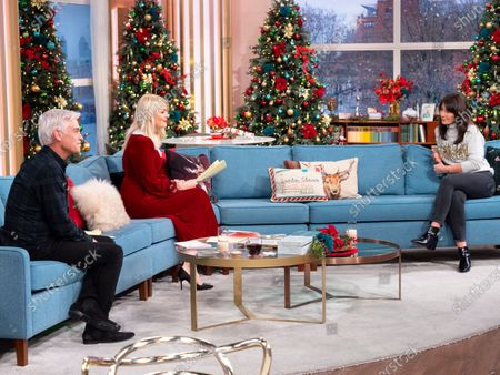 Phillip Schofield, Holly Willoughby, Davina McCall