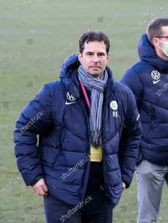 Ralf Kellermann (VfL Wolfsburg) after the Frauen Bundesliga game